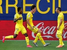 Villarreal easily beat local rivals Valencia in La Liga on Sunday. AFP