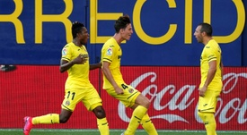Villarreal easily beat local rivals Valencia in La Liga on Sunday. AFP