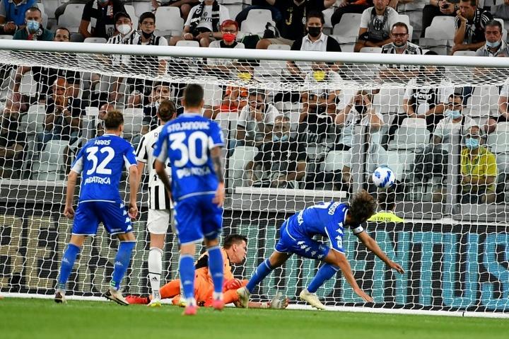 Mancuso espugna lo Stadium. AFP