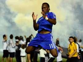 Drogba abandonnera les terrains en 2018. AFP