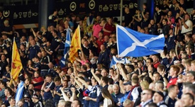 SFA say Scottish football could be back in August. AFP