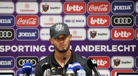 Vincent Kompany will focus on managerial duties at Anderlecht. AFP