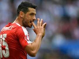 Switzerland midfielder Blerim Dzemaili. AFP