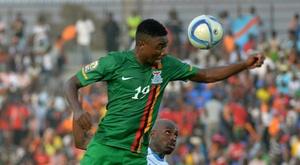 La Zambie et la Guinée, derniers qualifiés pour les quarts du CHAN. AFP