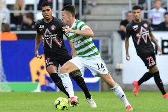 El Celtic ha hincado la rodilla ante el Livingston. AFP/Archivo