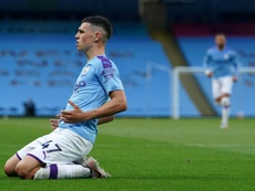 Guardiola hails Foden as 'incredible talent'. AFP