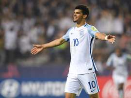 Solanke could earn his first England cap on Tuesday after being called up to the senior side. AFP