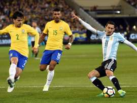 Brazil and Argentina will play in a feisty encounter in Saudi Arabia on Tuesday.  AFP