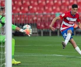 Granada won 2-1. AFP