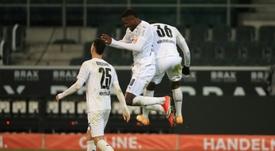 Gladbach end losing streak against Dortmund to climb to fourth. AFP