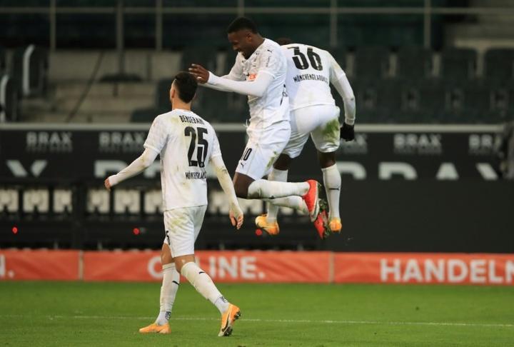 Mönchengladbach déroule contre l'Arminia Bielefeld. AFP