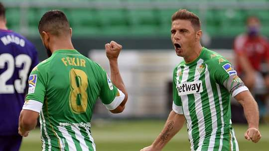 Joaquin has impressed over the years at Betis. AFP