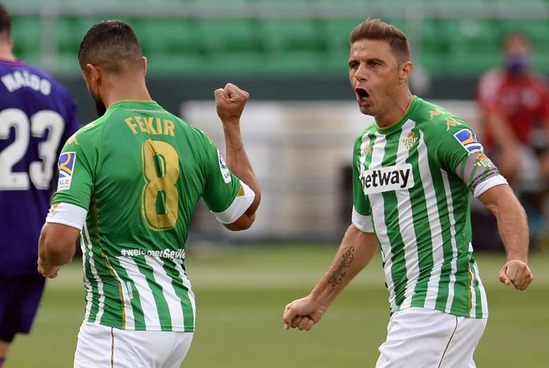 Joaquín is happy at Betis. AFP