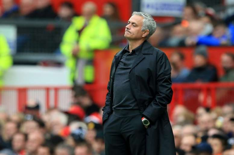 Mourinho's wretched reign at the United helm is finally at an end. AFP
