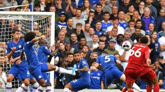 Alexander-Arnold hails 'massive' Liverpool win. AFP