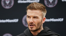 Beckham could have been the sports minister. AFP