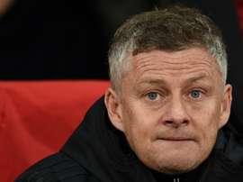 Sobre quem defenderá o gol do United nessa Liga Europa. AFP