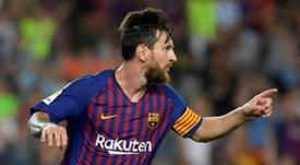 Messi s'offre un nouveau record. AFP