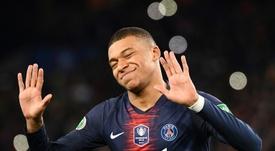 Francia quiere a Mbappé en los Juegos. AFP