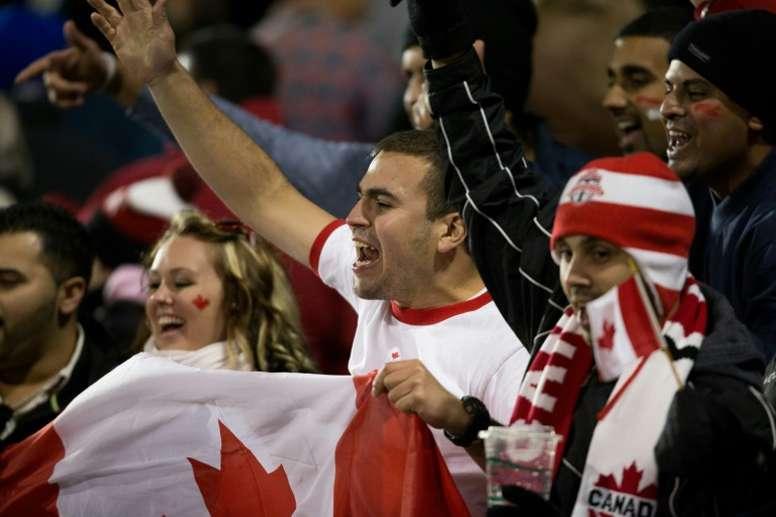 Los aficionados al fútbol canadiense están de enhorabuena. AFP/Archivo