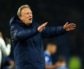 Warnock was delighted with Cardiff's display. AFP