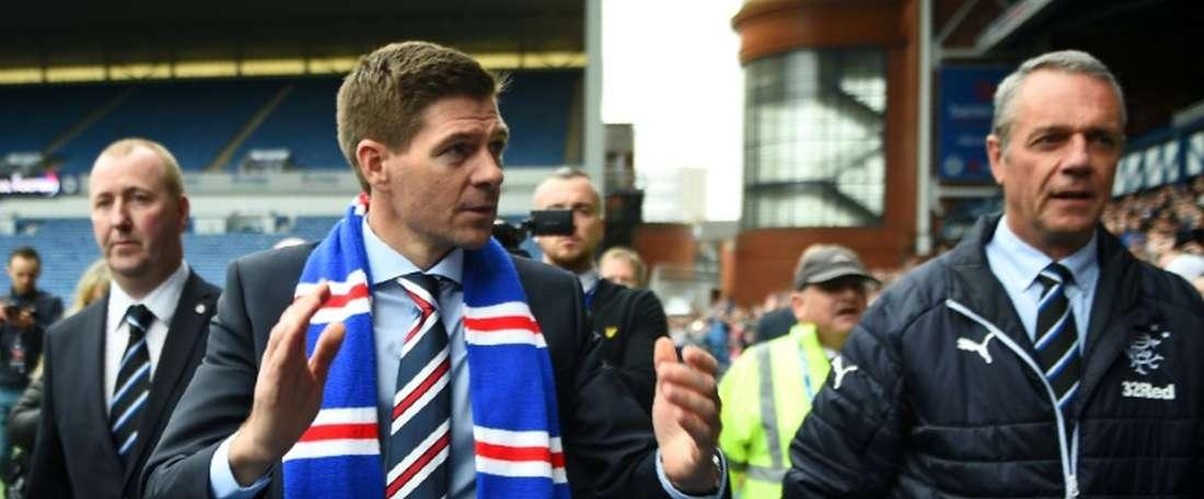 Rangers have begun their campaign promisingly under Gerrard. AFP