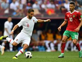 Moutinho wants to bring his winning mentality to his new club. AFP