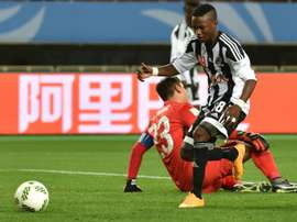 TP Mazembe Kalaba has netted six times in the Confederation Cup this season. AFP