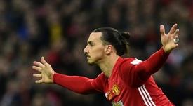 Un ancien Red Devil demande le retour d'Ibrahimovic. AFP
