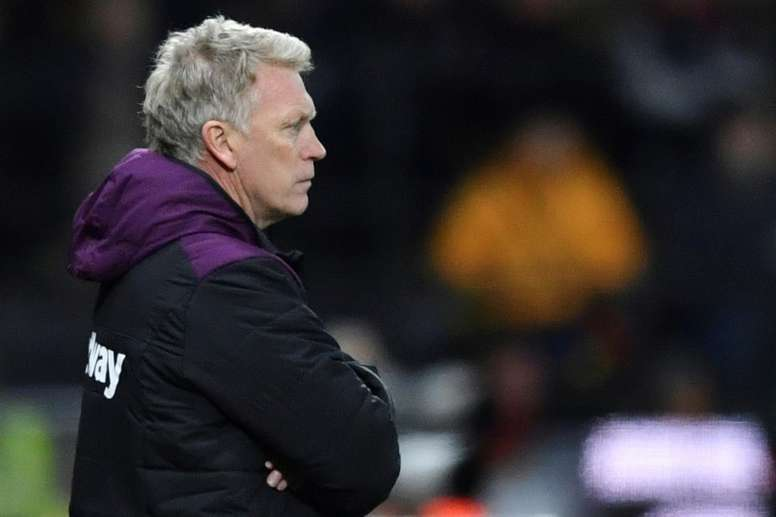 Moyes picked up his first point as West Ham boss during the draw with Leicester. AFP