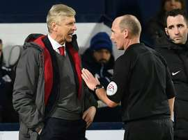 Mike Dean has admitted to making an error during the game. AFP