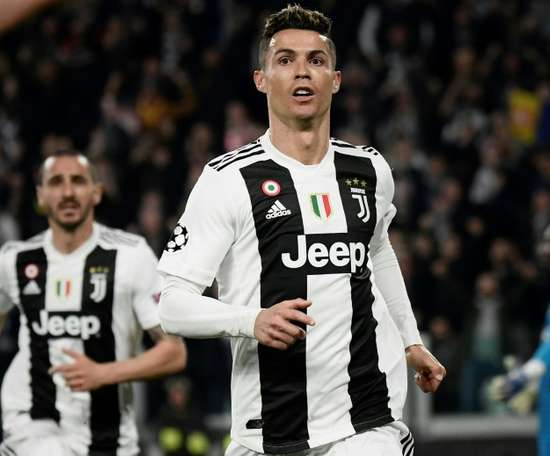 Ronaldo may leave Juve at the end of next season. AFP