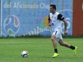 Marco Pappa marcó un golazo en el Municipal-Siquinalá. AFP/Archivo