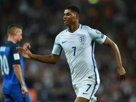 Marcus Rashford will be hoping to feature prominently at the World Cup. AFP