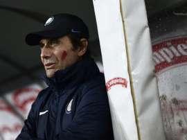 El Inter empató a uno. AFP