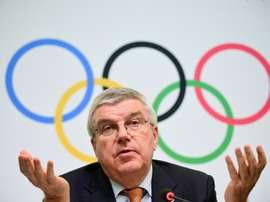 Comitê Olímpico Internacional avalia adiar a Olimpíada. AFP
