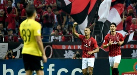 Urawa won 2-0. AFP