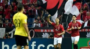 Urawa won 2-0. AFP