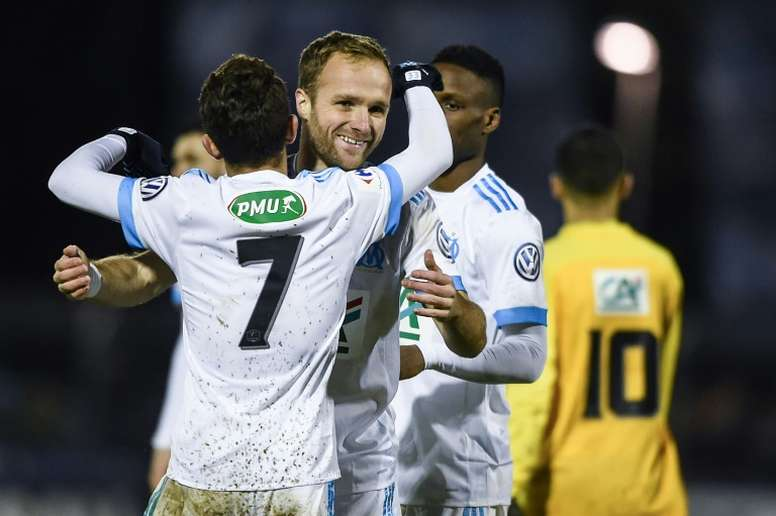 Germain strikes as Marseille edge out fourth-tier Epinal. AFP