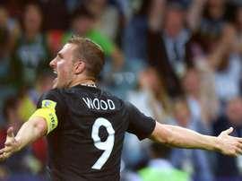 Wood estaría en el punto de mira de Burnley. AFP