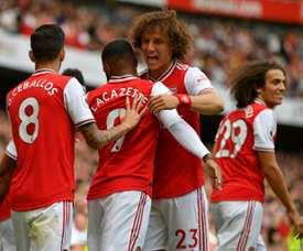 L'agent de David Luiz temporise face aux rumeurs de départ. AFP