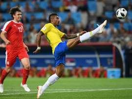 Encore un but pour Paulinho. AFP
