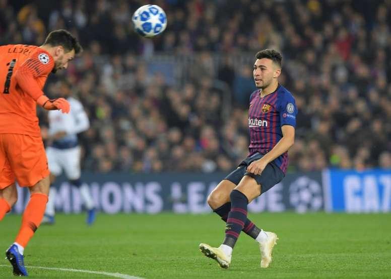Munir ne restera pas à Barcelone. AFP