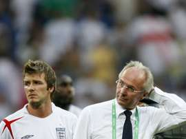 Sven-Goran Eriksson was unable to progress past the Quarter-finals with England. AFP
