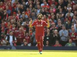 Salah joueur le plus efficace de PL selon Opta. AFP
