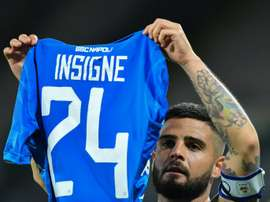Insigne will stay at Napoli after the club took him off the market. AFP