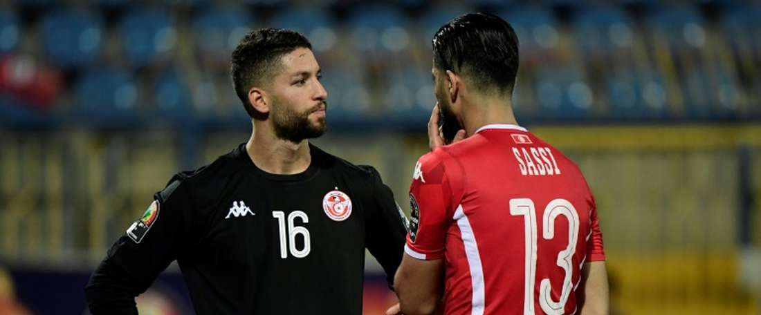 Tunisia goalkeeper sorry for stroppy reaction to shootout switch.