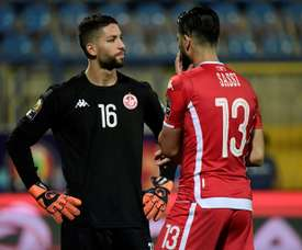 Tunisia goalkeeper sorry for stroppy reaction to shootout switch.