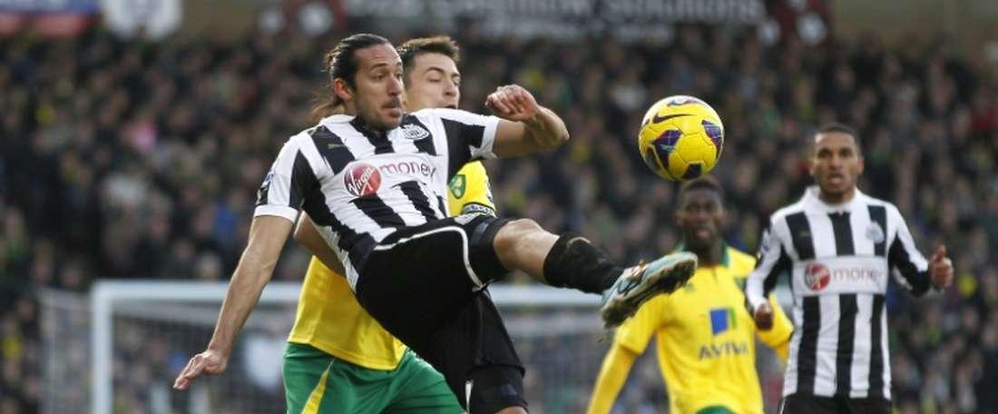 El Newcastle de Benítez se queda a seis puntos de la salvación tras su visita a Carrow Road. AFP