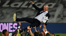 Zidane led Real to the La Liga title